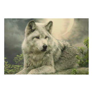 Wolf Painting Print Wall Art