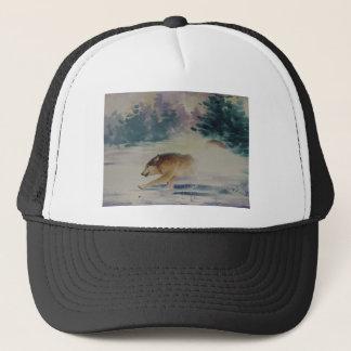 Wolf Pastel Trucker Hat