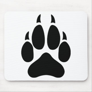 Wolf Paw Mouse Pad