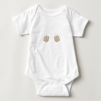Wolf Paws Baby Bodysuit