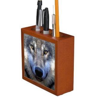 Wolf Pencil/Pen Holder
