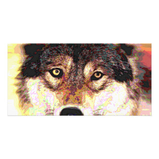 Wolf Personalized Photo Card