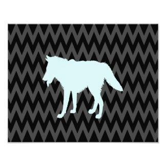 wolf photo print