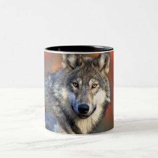 Wolf Photograph Mugs