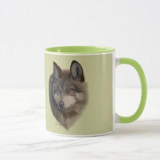 Wolf Portrait - Mugs