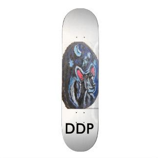 wolf portrait skate board decks