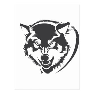 Wolf Post Card