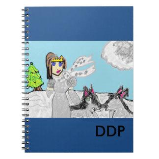 Wolf  princess notebook
