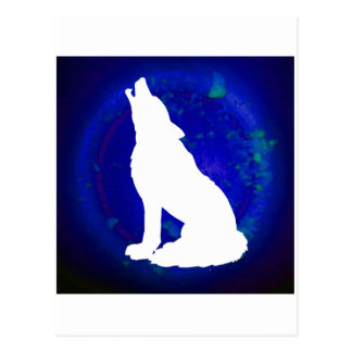 WOLF PRODUCTS POST CARD