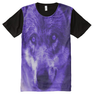 Wolf Prowl Panel T-Shirt