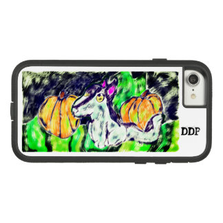 wolf pumpkins art Case-Mate tough extreme iPhone 8/7 case
