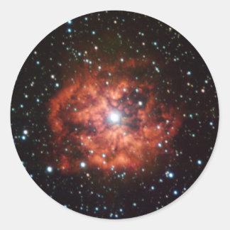 Wolf-Rayet star Classic Round Sticker