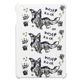 Wolf rock iPad mini case