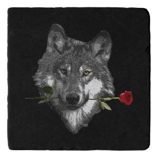 Wolf Rose Trivet