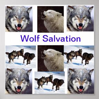 wolf salvation print