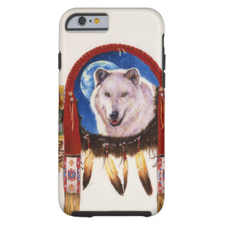 Wolf Shield Native American Tough iPhone 6 Case