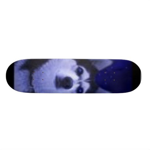wolf skate board deck