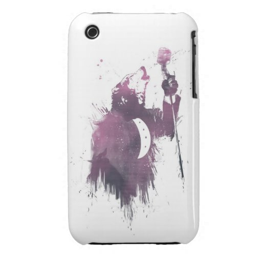 wolf song Case-Mate iPhone 3 case