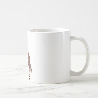 wolf song basic white mug