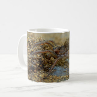 Wolf Spider With Egg Sac Bug Mug