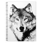 Wolf Spiral Notebooks