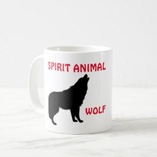 Wolf Spirit Animal Mug