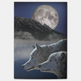 Wolf Spirit Post-it® Notes