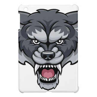 Wolf Sports Mascot iPad Mini Case