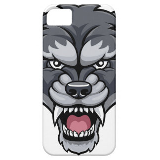 Wolf Sports Mascot iPhone 5 Case