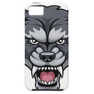 Wolf Sports Mascot Tough iPhone 5 Case