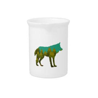 Wolf stroll pitcher