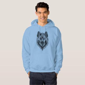 Wolf Sweatshirt and Hoodie