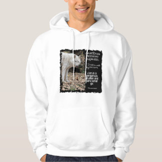 WOLF TERRENCE LATIN QUOTE HOODIE