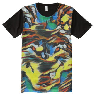 Wolf Totem Dream Art Graphic Tee