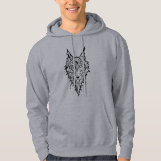 Wolf Totem of the Heartfang Hoodie
