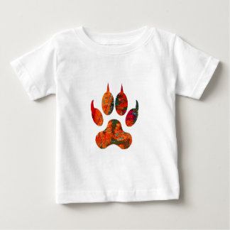 Wolf Track Baby T-Shirt