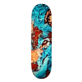 Wolf Van Gogh Element Zero Custom Pro Board 21.6 Cm Skateboard Deck