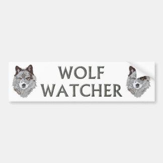 wolf watcher bumper stickers