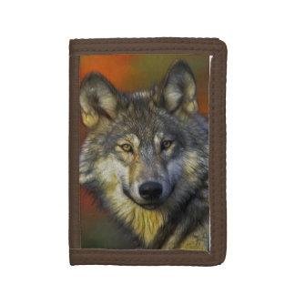 Wolf Wisdom Trifold Wallet