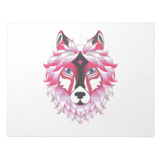 Wolf Wolves Fantasy Notepad
