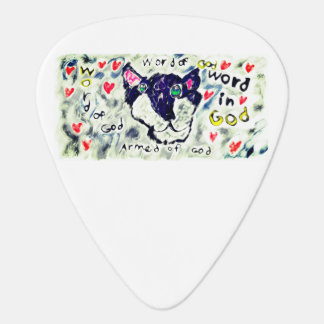 Wolf word of god plectrum