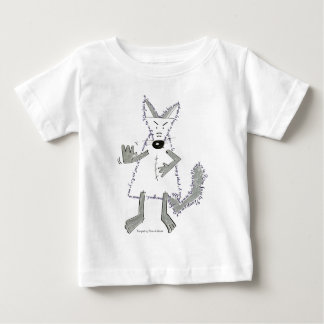 wolf you are there, Designed by Plume of Mouse Baby T-Shirt