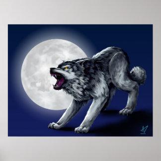 Wolfe s Wolf Print