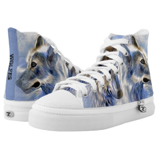 Wolfes Printed Shoes