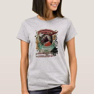 Wolfgang Amadeus Moozart Animal Composer Moose T-Shirt