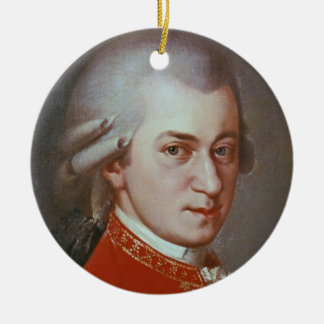 Wolfgang Amadeus Mozart Ceramic Ornament