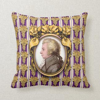 Wolfgang Amadeus Mozart Cushion