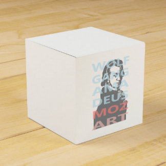 Wolfgang Amadeus Mozart Favour Box