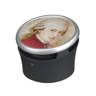 Wolfgang Amadeus Mozart in the water color style Speaker