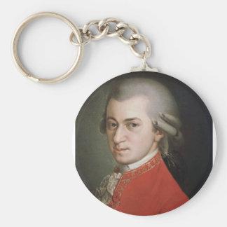 Wolfgang Amadeus Mozart Key Ring